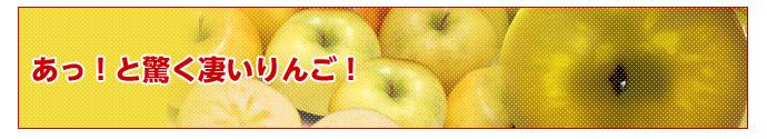 あっと驚くすごいりんご