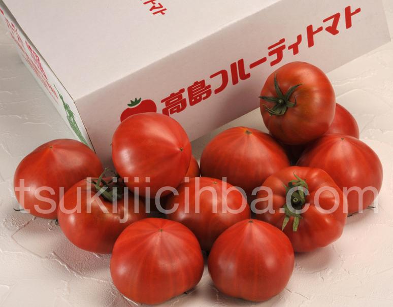 『たかしまフルーティトマト《情熱ハート》』 長崎県産 約900g(6〜12玉入)の写真