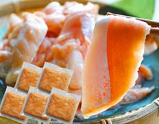 お寿司屋さんの訳あり品を限定入手「お刺身サーモン」