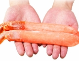 『極太ズワイガニ・ポーション』約1kg(11〜20本)※冷凍
