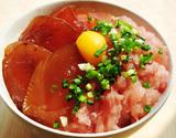 『本格まぐろ丼セット』 (鉄火丼の素×2袋、ネギトロ×2袋) ※冷凍