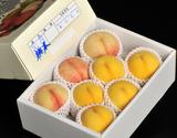 菱沼農園の『桃水&光月』 福島県産 約2kg(目安として6〜8玉)