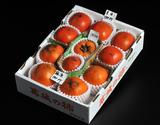 『御所柿3種食べ比べセット』奈良県産 約2kg(目安として10〜12玉)