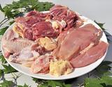 村越さんの『青森シャモロック』解体済 正肉(モモ・ムネ・ササミ)1羽分(1.2〜1.4kg) ※冷蔵