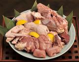 村越さんの『青森シャモロック』解体済 正肉(モモ・ムネ・ササミ)1羽分(1.2〜1.4kg)内臓付 ※冷蔵