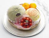 《母の日特選》『国産フルーツカゴ盛り Silver』 国産フルーツ4種