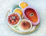 《父の日特選》国産フルーツバスケット Gold 4種5品 ※冷蔵