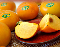 サクサクでとろける高糖度!話題の超美味柿「太秋柿」