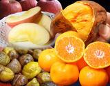 『新春フルーツ福袋』 長崎みかん・長期熟成安納紅・サンふじ 計5kg+有機むき栗オマケ
