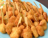 『海鮮串揚げ』5種50本セット 5本(5種)×10袋 ※冷凍