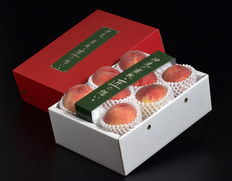 福島の桃は日本一楽しい