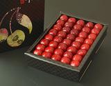 安達宗一郎さんのさくらんぼ『佐藤錦』 山形県東根産 特秀品 L〜2L 約300g 化粧箱