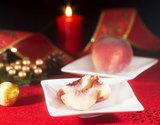 冬に収穫する希少な露地桃『クリスマスピーチ(冬桃)』 山梨県産  約450g(3玉入) ※常温