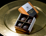 『CHOCOLATE WITH SINGLE MALT & MACA』 シングルモルト&国産マカ入りチョコレート 4粒入り
