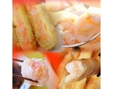 『海老福袋 第2弾』 エビ餃子50個+海老チーズ春巻12本+海老カツ6個+エビ焼売8個 ※冷凍