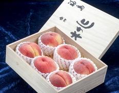 皇室・宮家に献上する桑折町の桃『献上桃の郷』