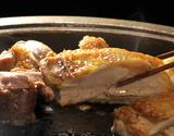 伊達の地鶏『川俣シャモ』 オス1羽(1.5〜1.9kg) 解体済み ガラ無し・内臓付 ※冷蔵