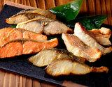 銀座割烹里仙監修 焼西京詰合せ4種(鰆、銀鮭、鰤、赤魚)×4切れセット(1切れあたり約40g) ※冷凍