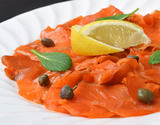 紅鮭スモークサーモン 切り落とし 300g×2パック 計600g