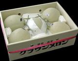 『クラウンメロン』 静岡産 雪等級 大玉5〜6玉 計約8kg ※常温