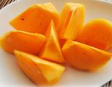 【朝日マリオン】和歌山県産 ちょっと傷あり「たねなし柿」 約2kg(1箱:10〜12玉入)