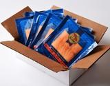 【朝日マリオン】「塩だけで作った スモークサーモン」 60g×15P 計900g ※冷凍