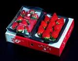 佐賀県産 「いちごさん」 1箱:約240g(8〜12粒)×2パック ※冷蔵