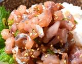国産アジのたたき 生食用 10人前(80g×10パック) ※冷凍