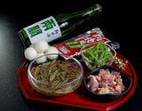 「秋田県三種町産 夏のじゅんさい鍋(2人前)」と純米酒「両関」(720ml) セット※冷蔵