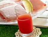 尾花沢スイカジュース(果汁100%) 100g×15袋[酸化防止剤無添加] ※冷凍