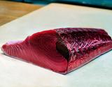 """【お試し】『天然""""生""""マグロ』 腹側ブロック 約1kg(本マグロ以外も含む)※冷蔵【豊洲市場直送】"""